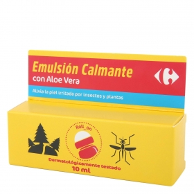 Emulsión calmante con aloe vera en roll-on Carrefour 10 ml.