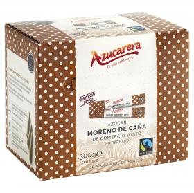 Azúcar moreno de caña integral en azucaritos Azucarera 300 g.