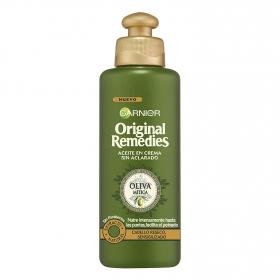 Aceite en crema oliva mítica sin aclarado Garnier Original Remedies 200 ml.
