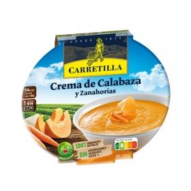 Crema de calabaza y zanahoria Carretilla sin gluten 300 g.
