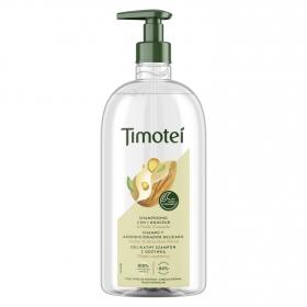 Champú y acondicionador 2 en 1 delicado para cabello normal Timotei 750 ml.