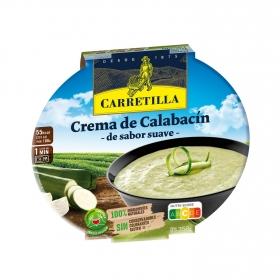 Crema de calabacín de sabor suave Carretilla sin gluten 300 g.