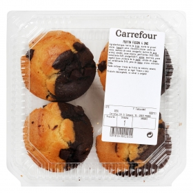 Muffin fusión Carrefour 4 ud