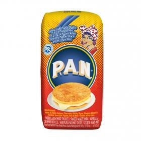Harina de maíz dulce Pan sin gluten 500 g.