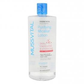 Agua micelar para piel sensible Mussvital 500 ml.
