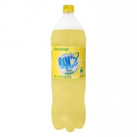 Refresco de limón Carrefour con gas botella 2 l.