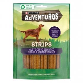 Snack para perros Purina Adventuros strips 90 g.