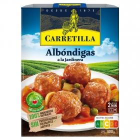 Albóndigas a la jardinera Carretilla 300 g.