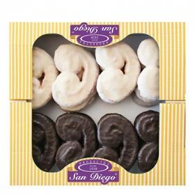 Palmeras de chocolate San Diego 500 g.