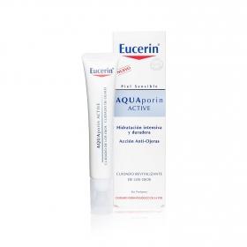 Contorno de ojos Aquaporin Active para piel sensible Eucerin 15 ml.