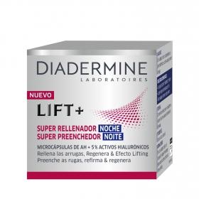 Crema de noche anti-arrugas Lift + Super Rellenador Diadermine 50 ml.