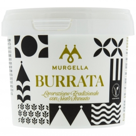 Queso fresco burrata Murgella Hispano Italiana 200 g