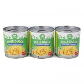 Maíz Dulce Carrefour 3x140 g.