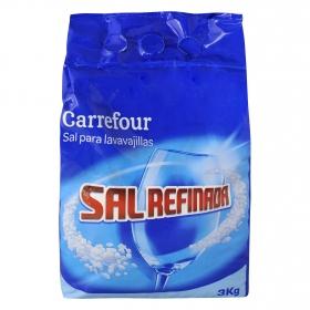 Sal para lavavajillas Carrefour 3 kg.