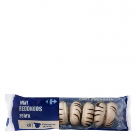 Mini redondos de chocolate Carrefour 160 g.