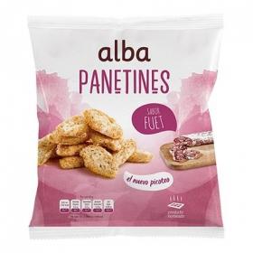 Panetines sabor fuet Alba 90 g.