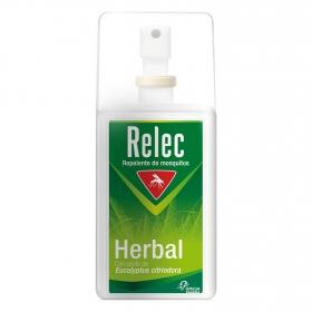 Spray repelente de mosquitos Herbal Relec 75 ml.