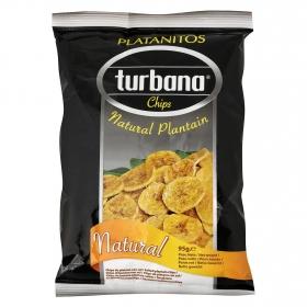 Snacks plátano natural Turban 95 g.