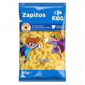 Aperitivo de maíz Zapitos Carrefour Kids 80 g.