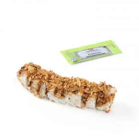 Crunch roll de pollo Sushi Daily