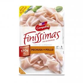 Pechuga de pollo Campofrío Finissimas 170 g.