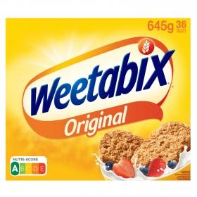 Cereales integrales de trigo Weetabix 645 g.
