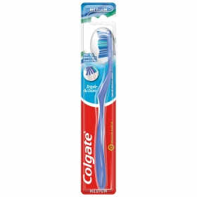 Cepillo dental Triple Acción Medio Colgate 1 ud.