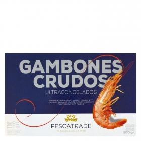 Gambones crudos ultracongelados Pescatrade 500 g.