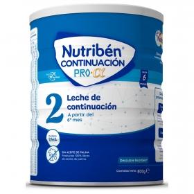 Leche infantil de continuación desde 6 meses Nutribén Pro 800 gr