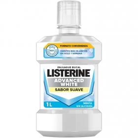 Enjuague blanqueador avanzado Listerine 1 l.