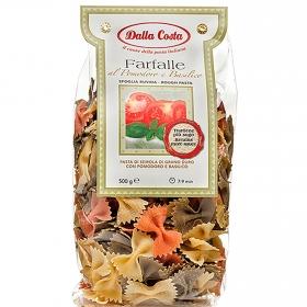 Farfalle de tomate y albahaca Dalla Costa 500 g.