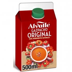 Gazpacho original Alvalle sin gluten 500 ml.