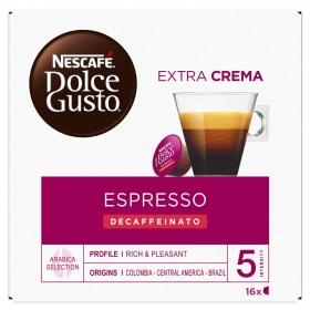 Café Intenso Descafeinado Nescafe Dolce Gusto 16 Cápsulas