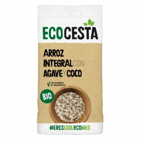 Arroz integral hinchado ecológico Ecocesta 350 g.