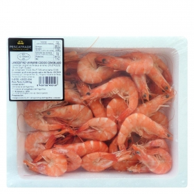 Langostino cocido congelado Pescatrade 400 g.