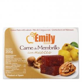 Carne de membrillo con nueces Emily 200 g.