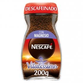 Café soluble descafeinado Nescafé Vitalissimo 200 g.