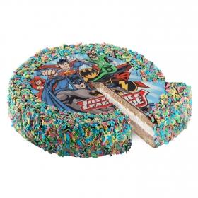 Tarta disco de azúcar infantil 18 raciones 1 ud