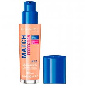 Base de maquillaje líquido Match Perfection nº 300 Sand Rimmel 1 ud.