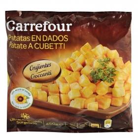 Patatas en dados Carrefour 450 g.