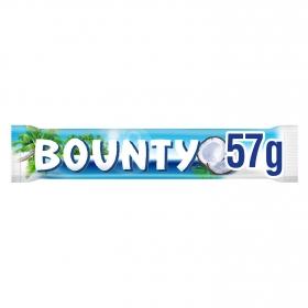 Barrita de chocolate rellena de coco Bounty 57 g.