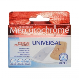 Apósitos universal Mercurochrome 20 ud.