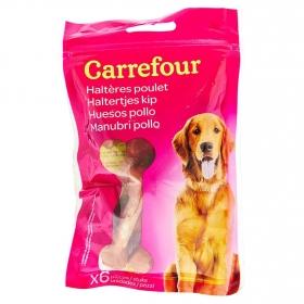 Carrefour Snacks para Perro de Pollo 6 uds