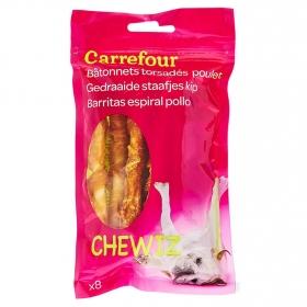 Carrefour Snacks para Perro de Pollo 8 unidades