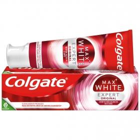 Dentífrico Max White Expert menta fresca Colgate 75 ml.