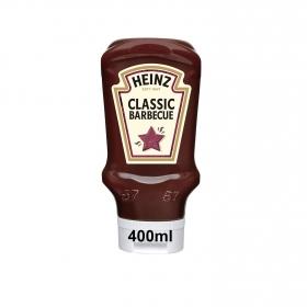 Salsa barbacoa Heinz envase 400 ml.
