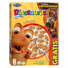 Galletas de cereales con vitaminas Dinosaurus Artiach 350 g.