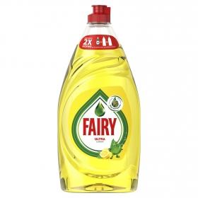 Lavavajillas a mano ultra aroma limón Fairy 780 ml.