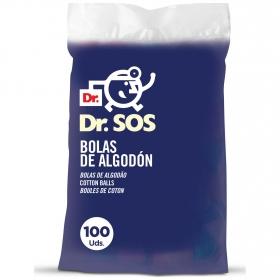 Bolas de algodón Dr. Sos 100 ud.