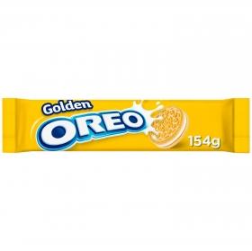 Galletas rellenas de crema de vainilla Golden Oreo 154 g.